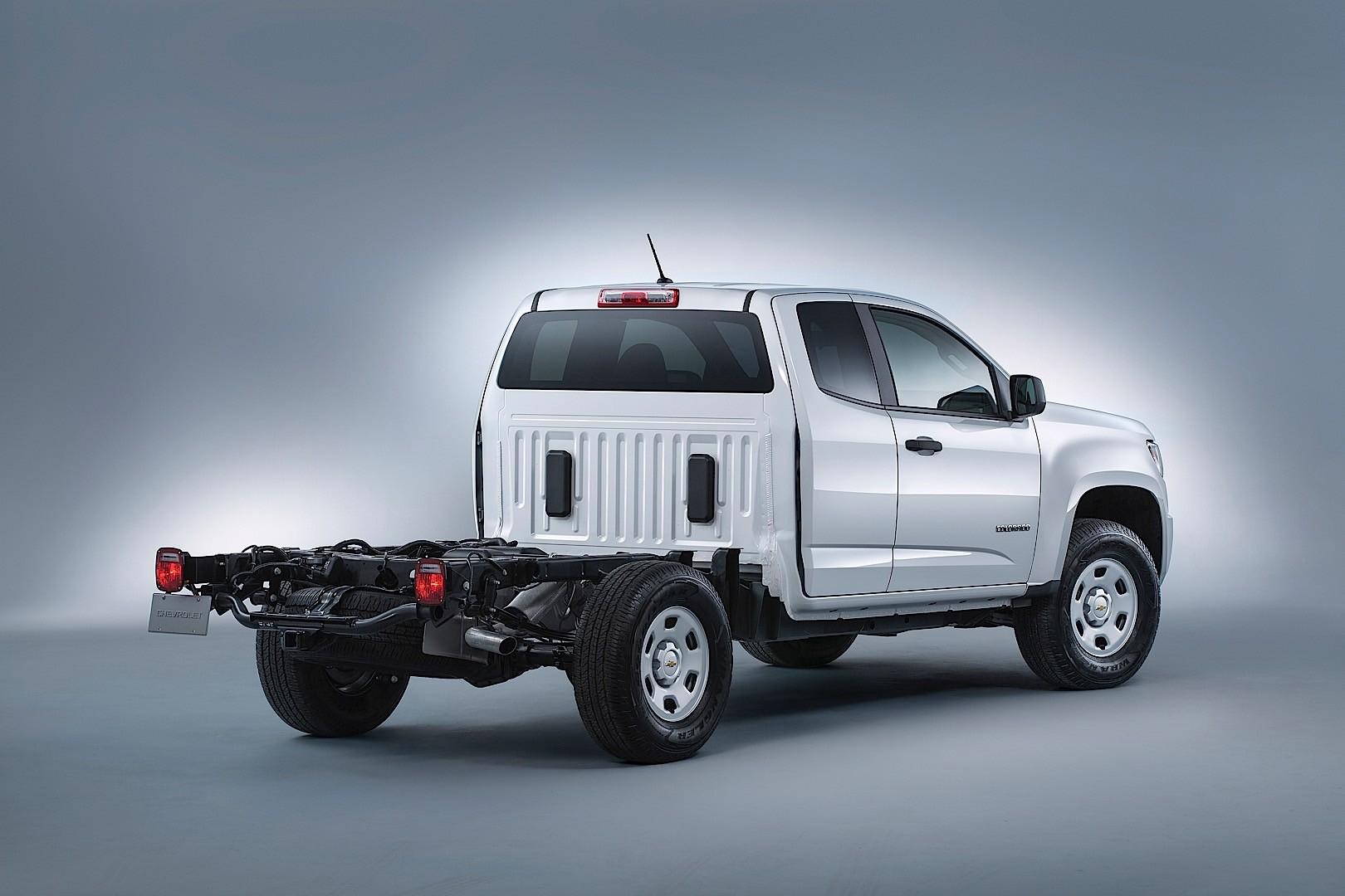 Chevrolet Colorado Extended Cab 2017 Present