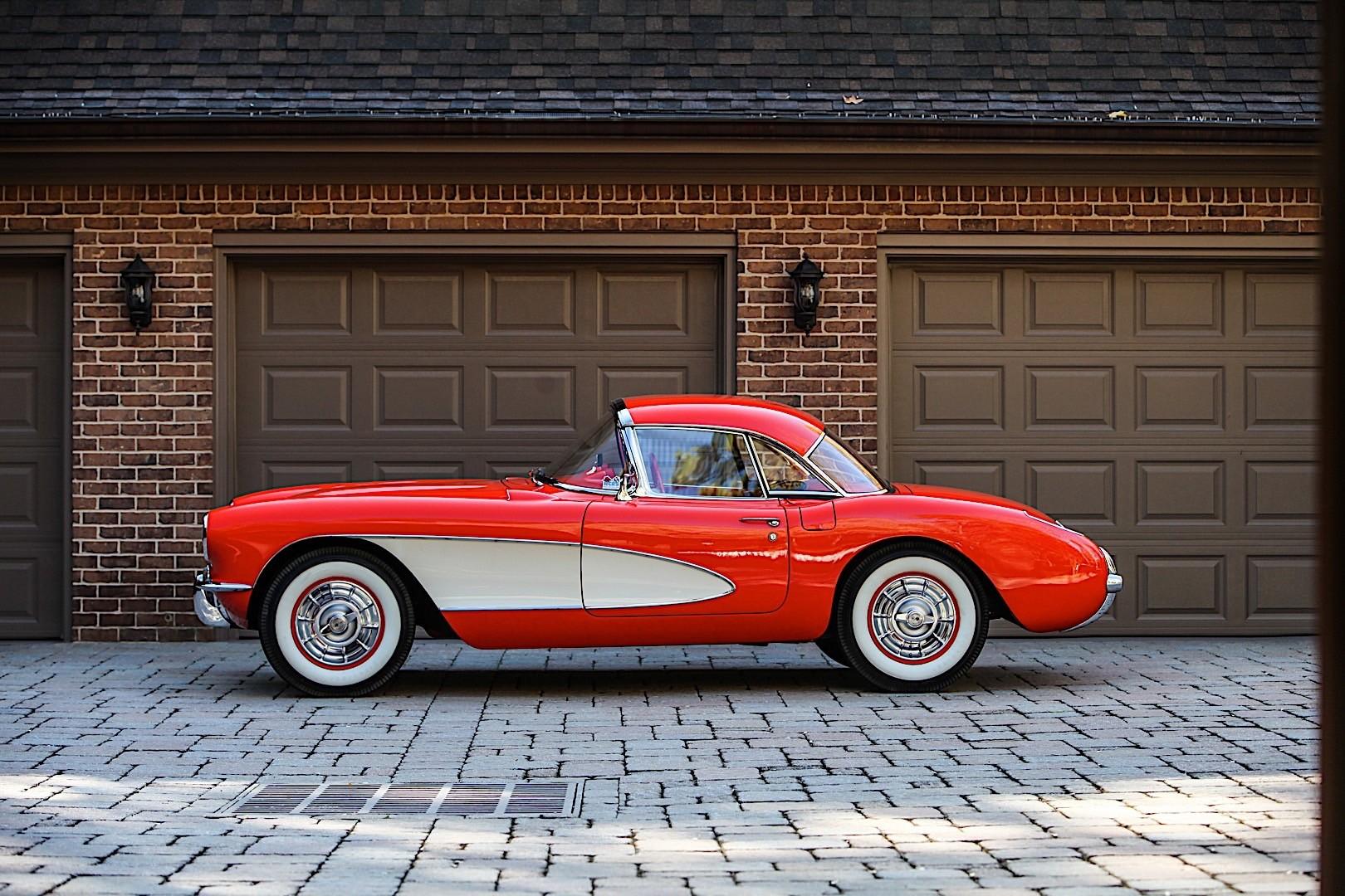 Pictures Of Corvettes >> CHEVROLET Corvette C1 specs - 1956, 1957, 1958, 1959, 1960 ...