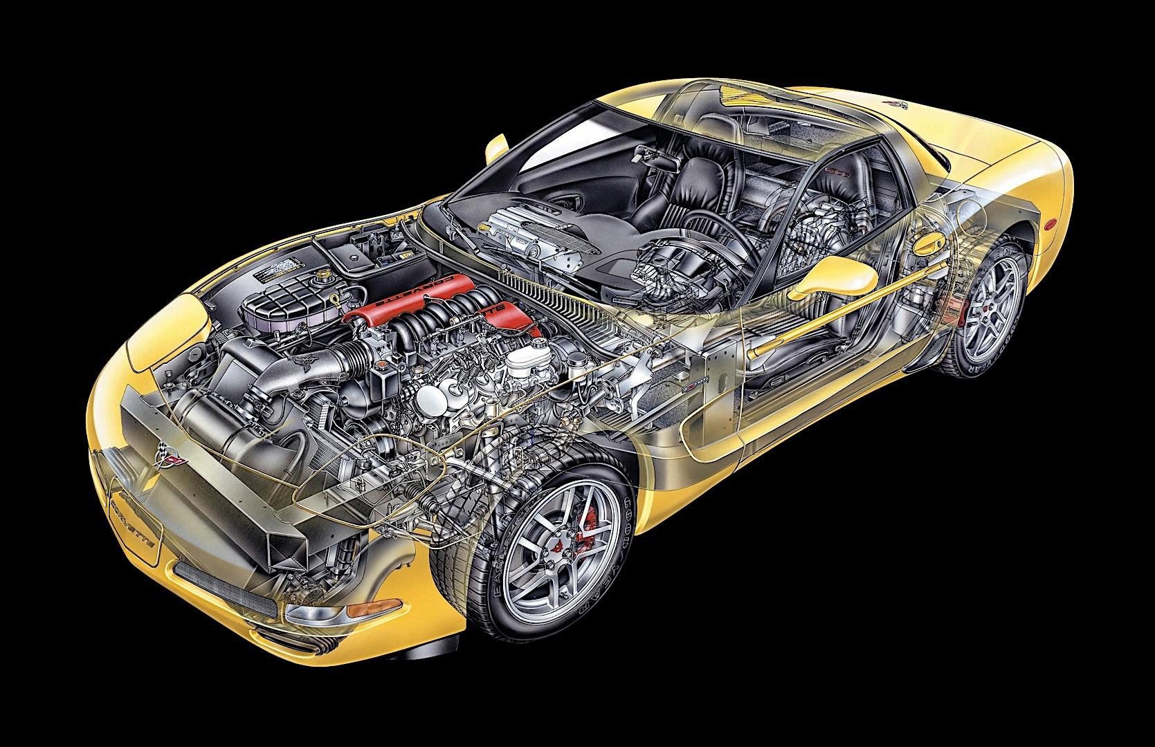 CHEVROLET Corvette C5 Z06 specs & photos - 2001, 2002 ...