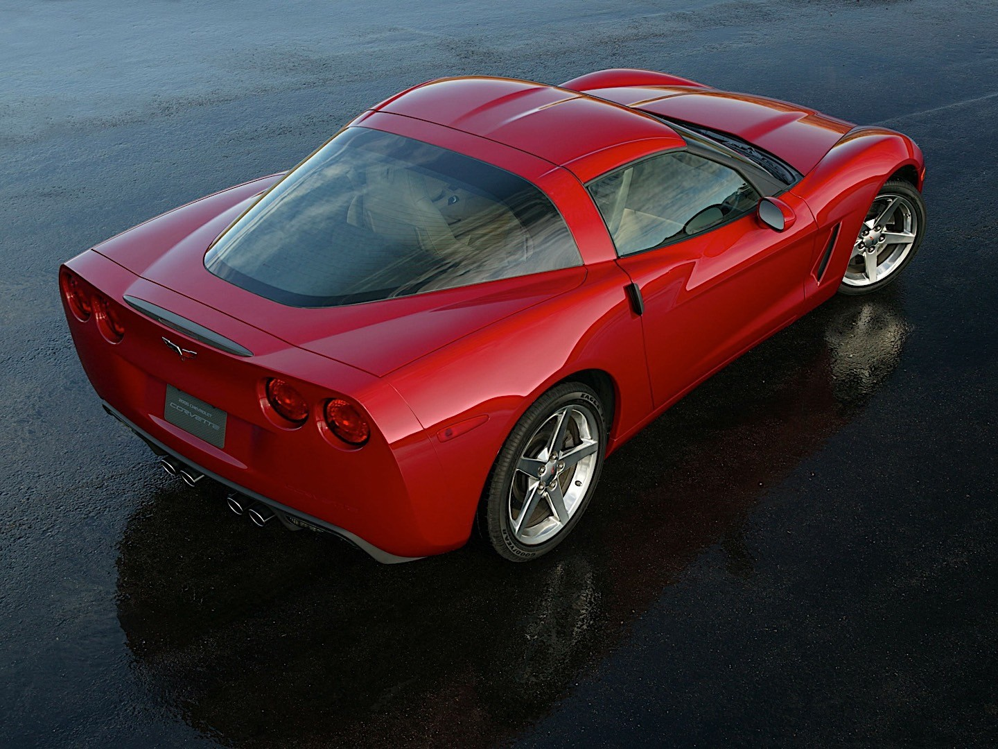 CHEVROLET Corvette C6 Coupe specs & photos - 2004, 2005 ...