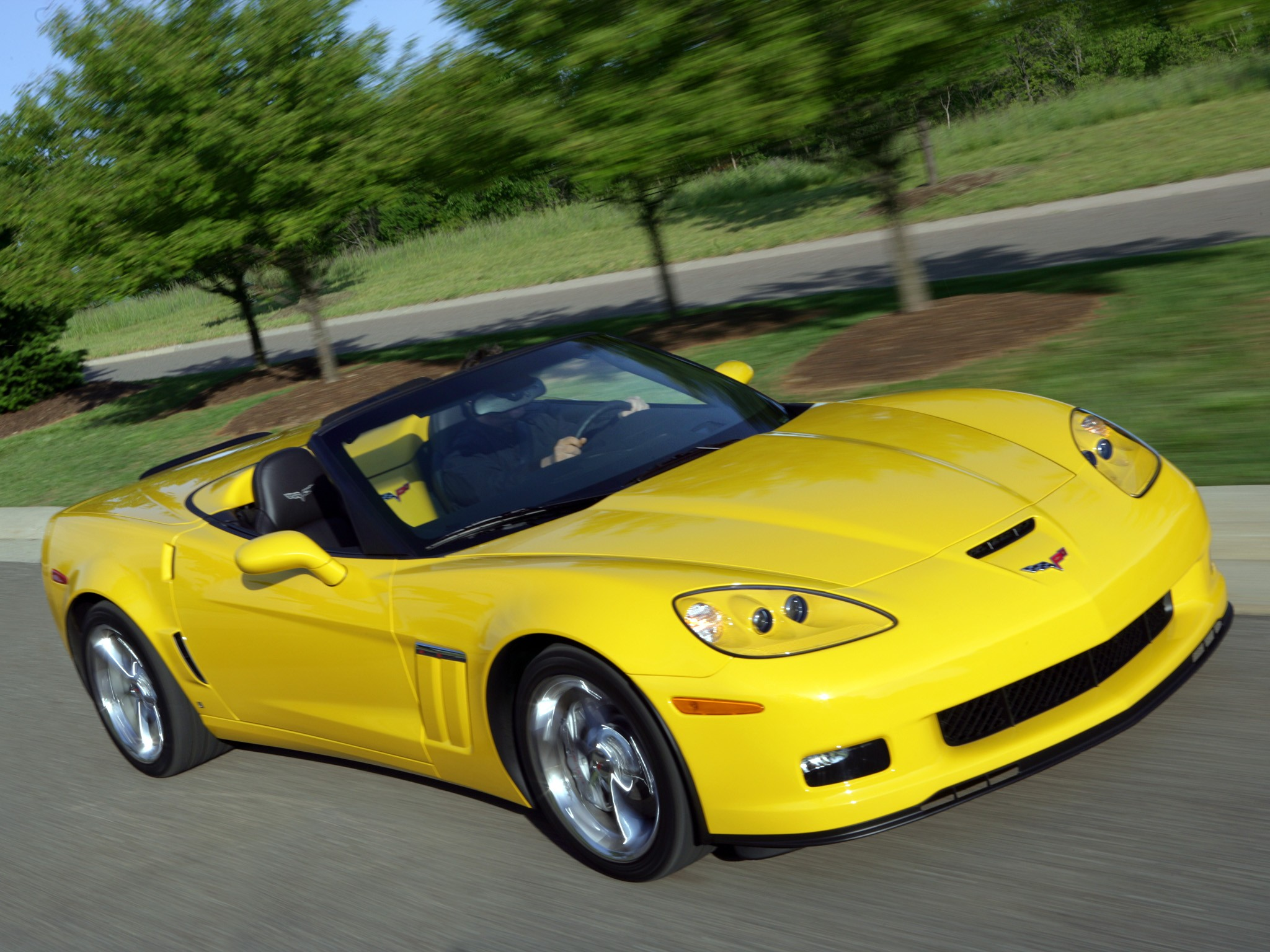Chevrolet Corvette Convertible Grand Sport Specs 2009
