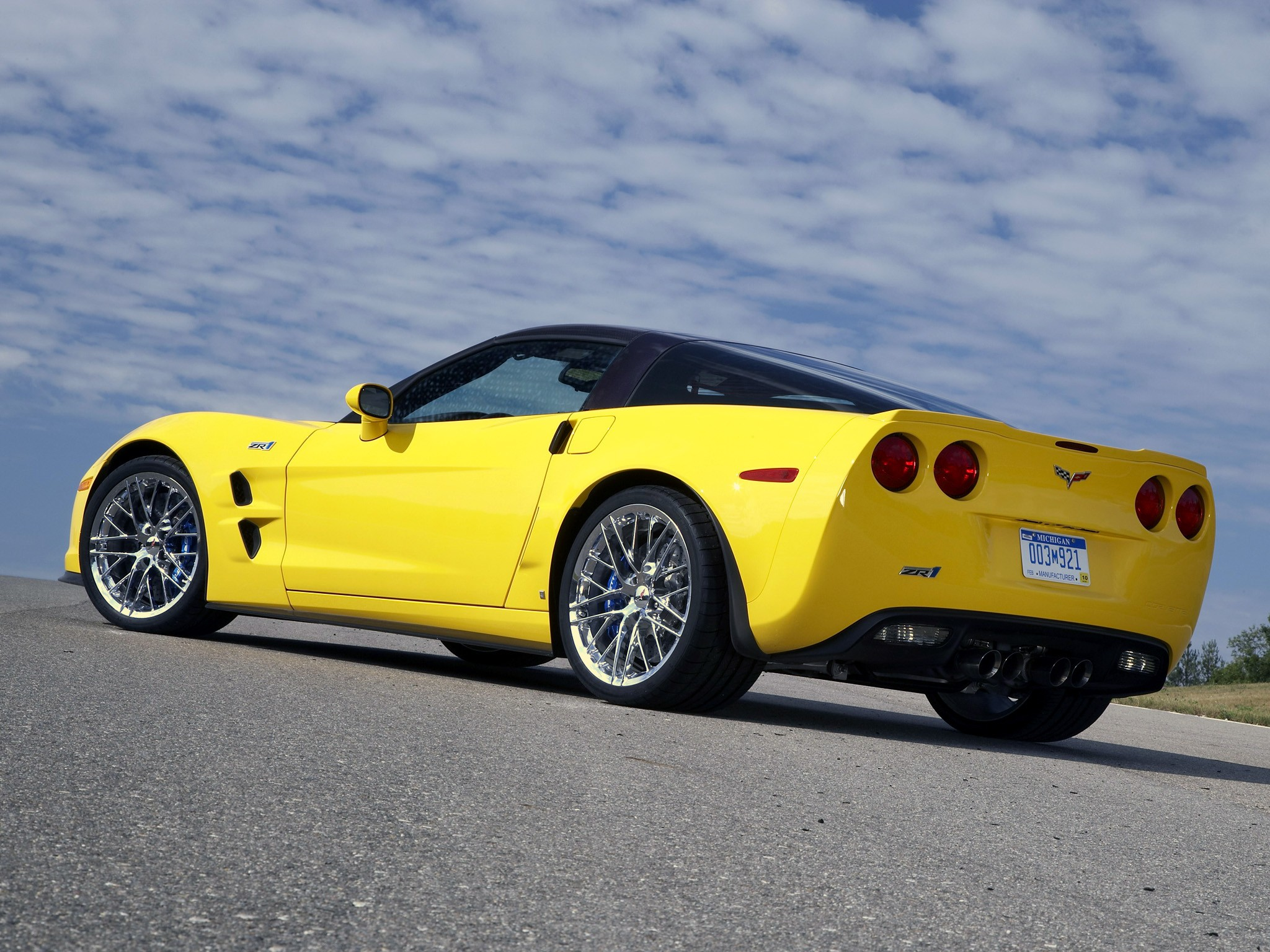 Chevrolet Corvette Zr1 2008 2009 2010 2011 2012