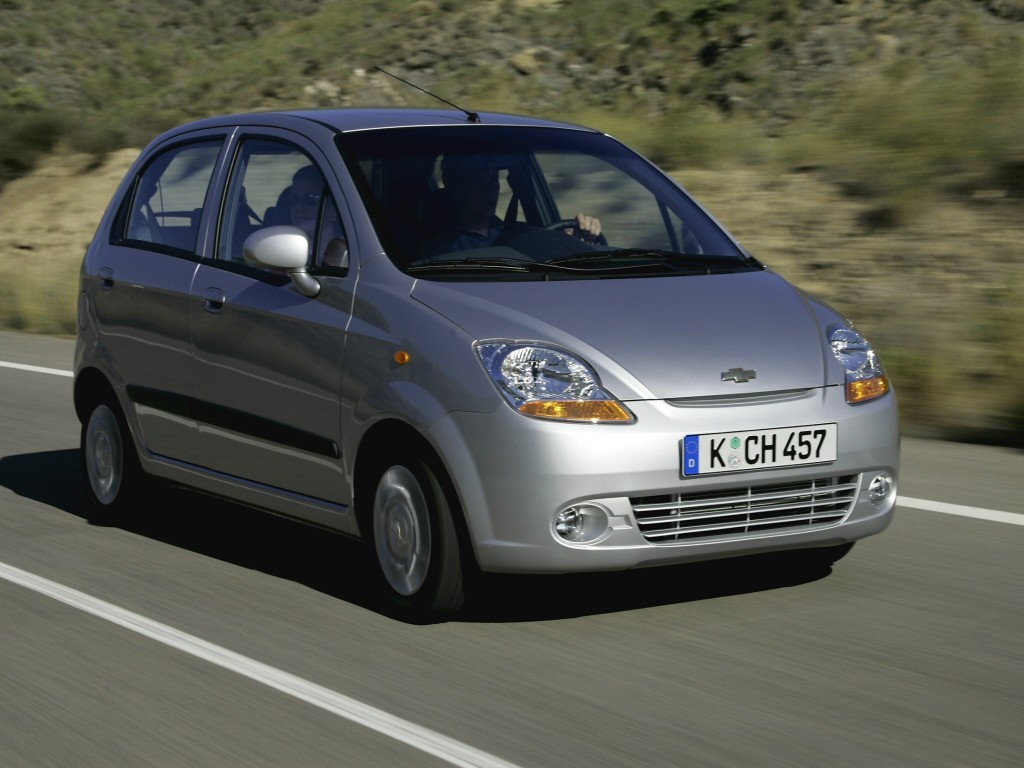 CHEVROLET Matiz / Spark (M200) specs & photos - 2005, 2006 ...