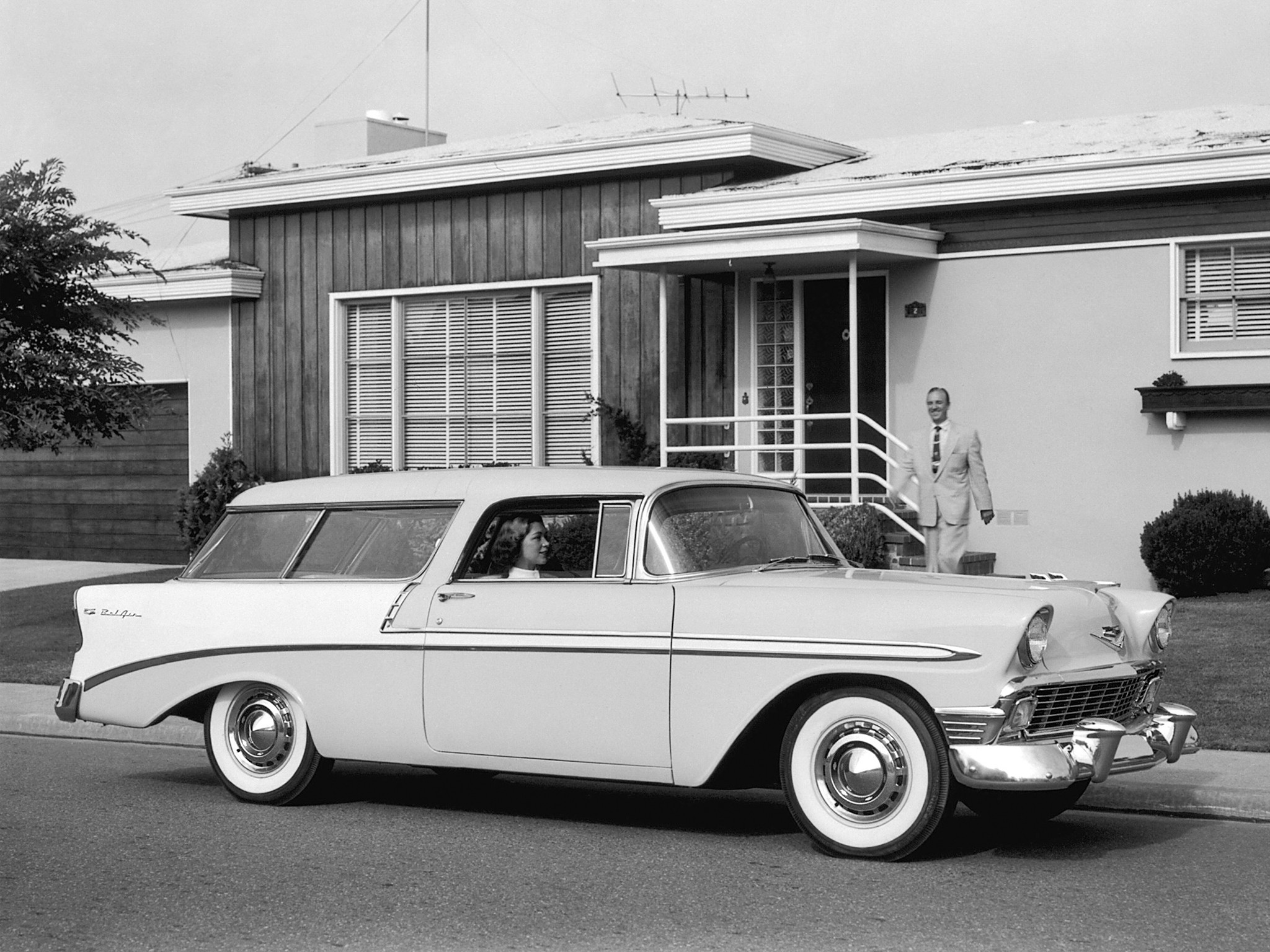 CHEVROLET Nomad specs & photos - 1955, 1956, 1957 ...