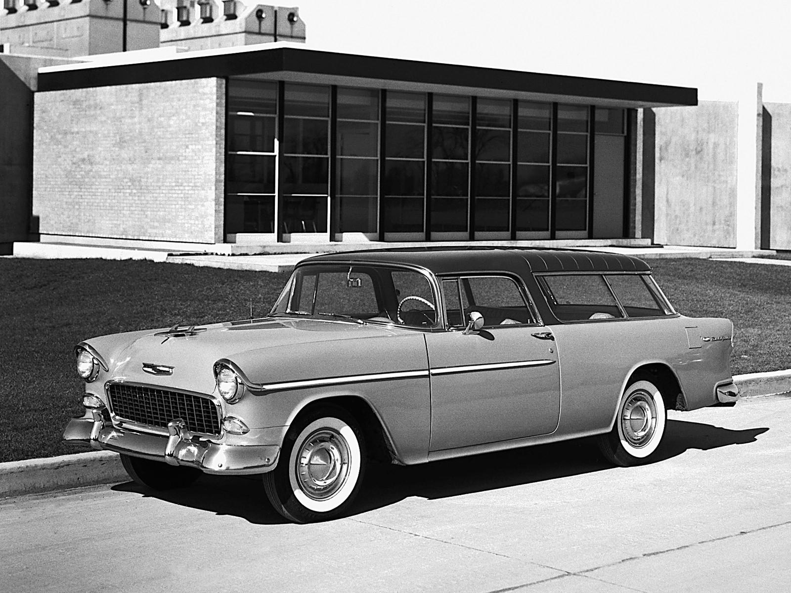 CHEVROLET Nomad specs & photos - 1955, 1956, 1957 ...