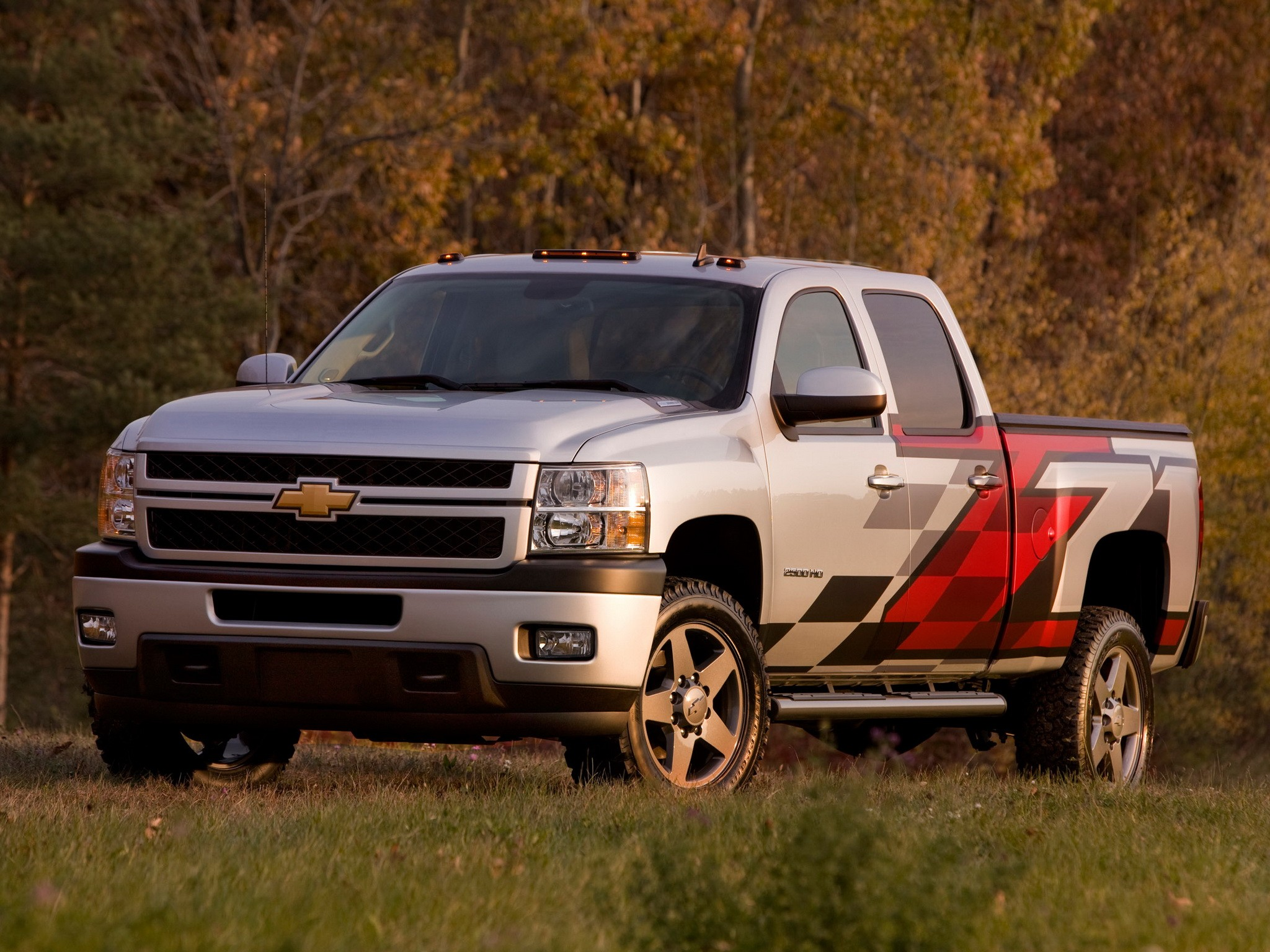 CHEVROLET Silverado 2500HD Crew Cab specs & photos - 2008 ...
