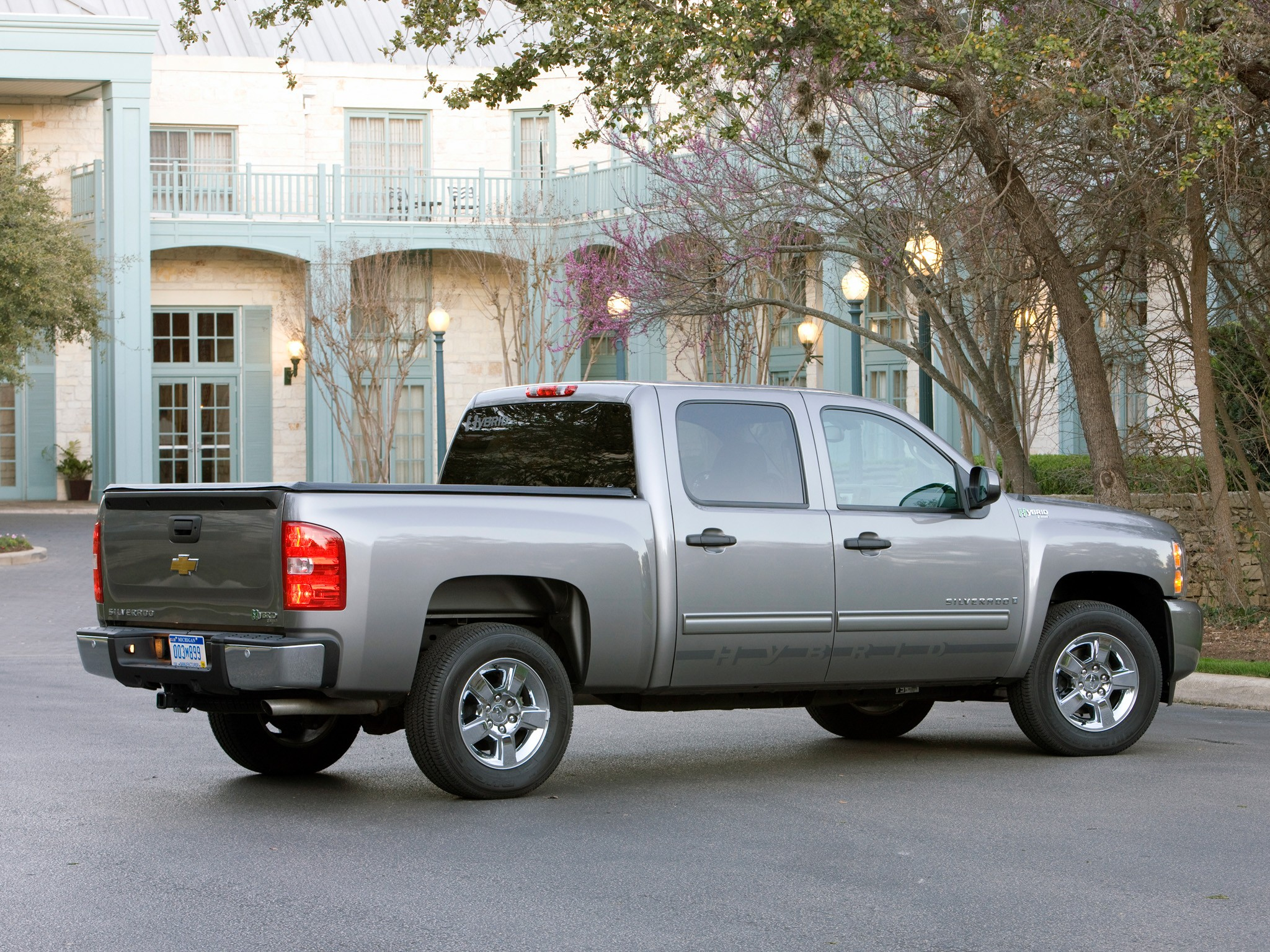 chevrolet silverado hybrid 2008 2009 2010 2011 2012 2013 autoevolution. Black Bedroom Furniture Sets. Home Design Ideas
