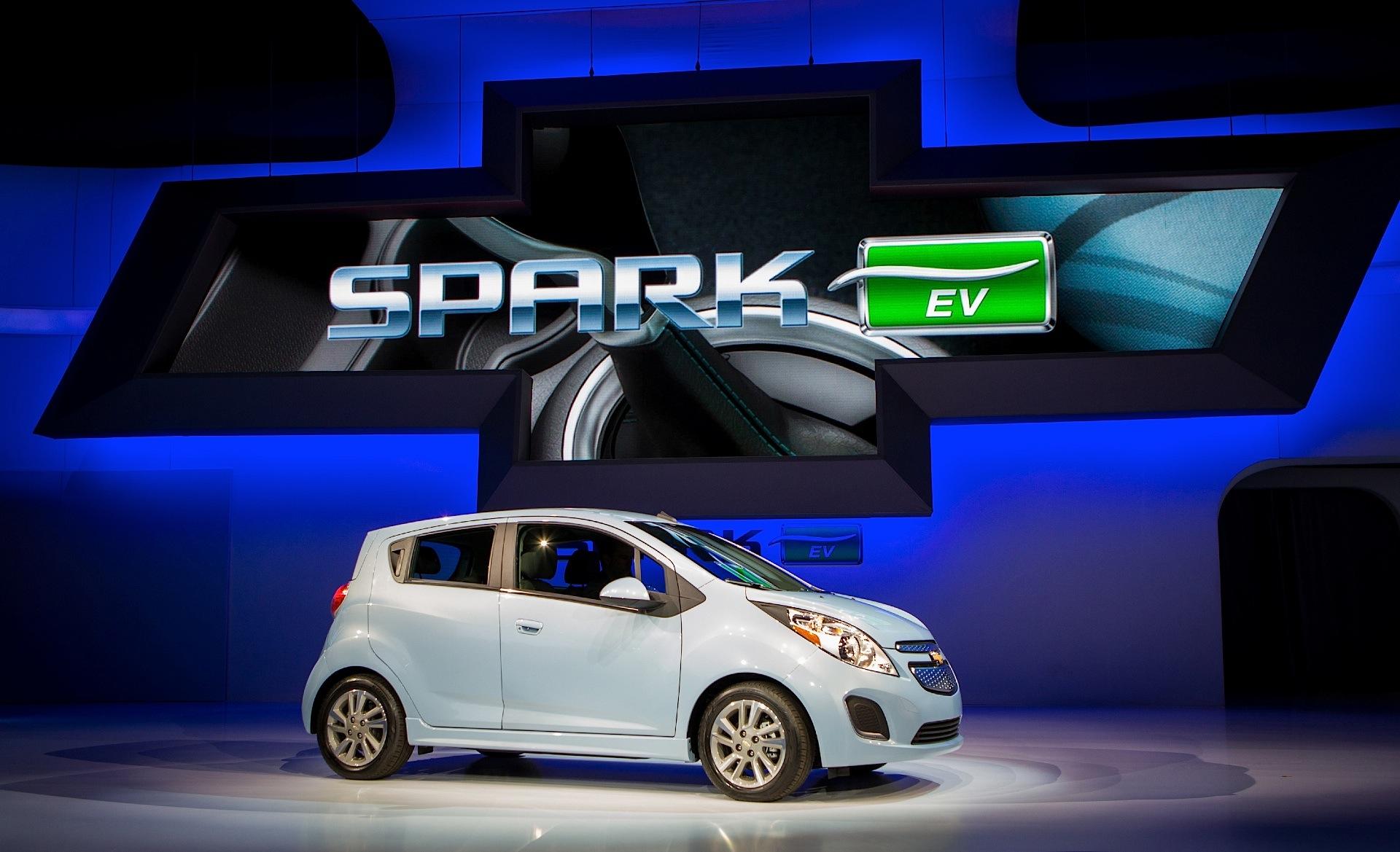 CHEVROLET Spark EV specs 2013 2014 2015 2016 autoevolution