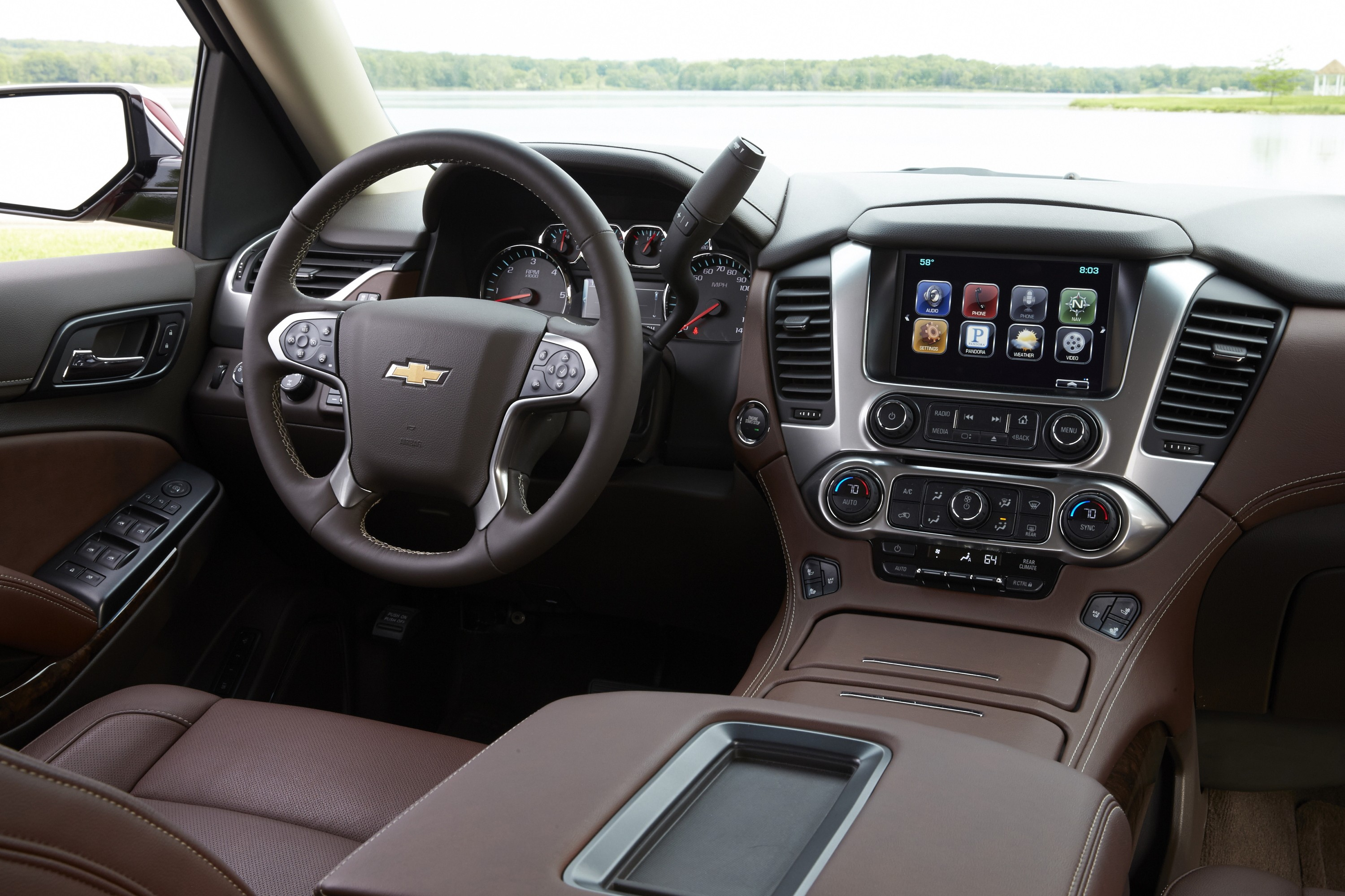 CHEVROLET Suburban specs & photos - 2014, 2015, 2016, 2017 ...