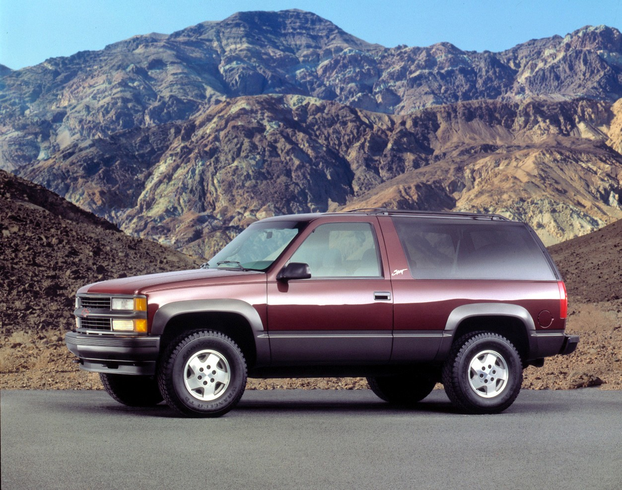Chevrolet Tahoe 3 Doors Specs Photos 1991 1992 1993