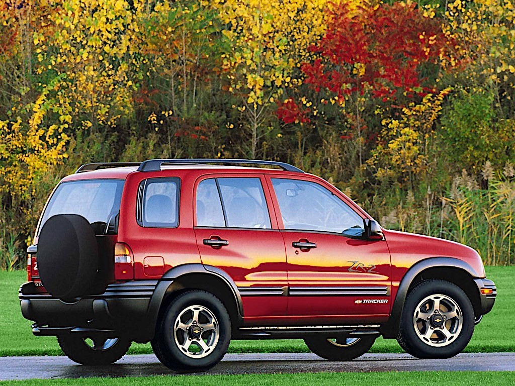 CHEVROLET Tracker specs & photos - 1999, 2000, 2001, 2002 ...