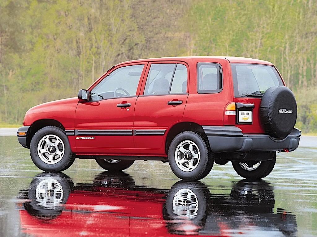 Chevrolet Tracker Spezifikationen Fotos 1999 2000 2001 2002 2003 2004 Autoevolution In Deutscher Sprache