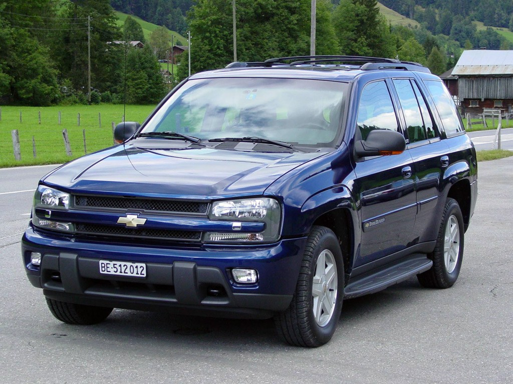 Chevrolet Trailblazer Ext Spezifikationen Fotos 2002 2003 2004 2005 2006 Autoevolution In Deutscher Sprache