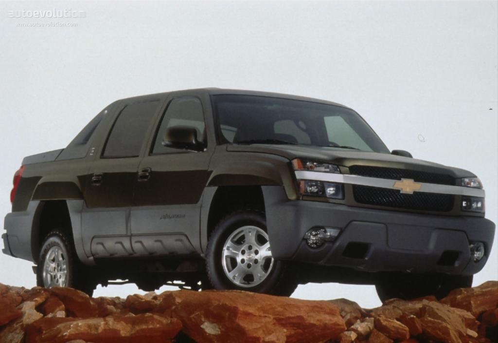 Chevrolet Avalanche 2001 2002 2003 2004 2005 2006
