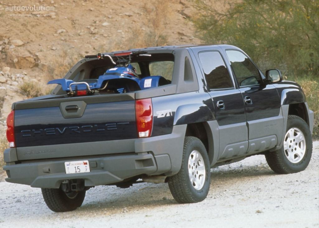 Chevrolet avalanche specs 2001 2002 2003 2004 2005 2006 autoevolution