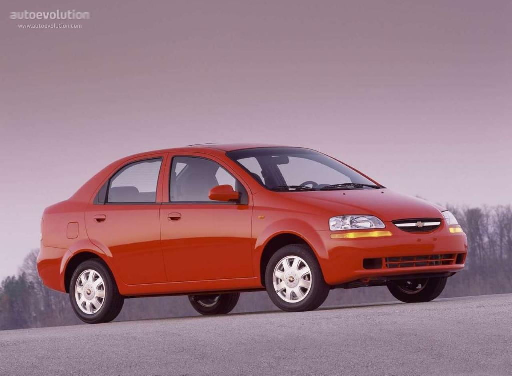 chevrolet aveo  kalos sedan specs - 2004  2005  2006