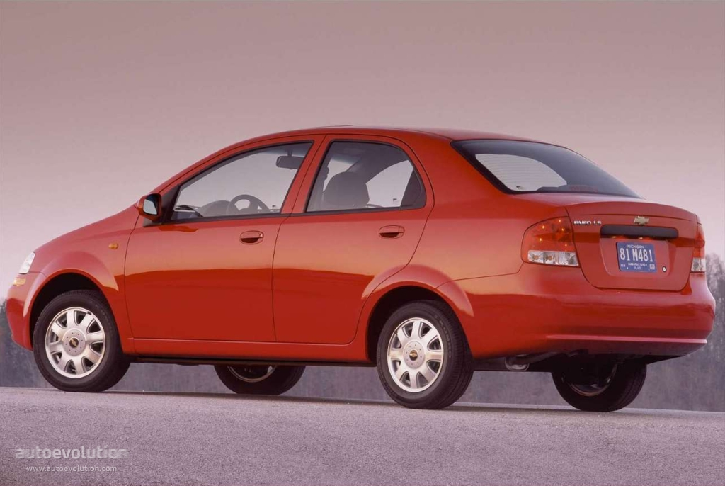 Chevrolet Aveo Kalos Sedan Specs Amp Photos 2004 2005 2006 Autoevolution