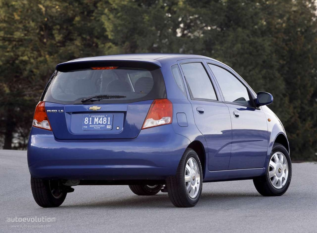 2005 Chevy Aveo Hatchback Reviews