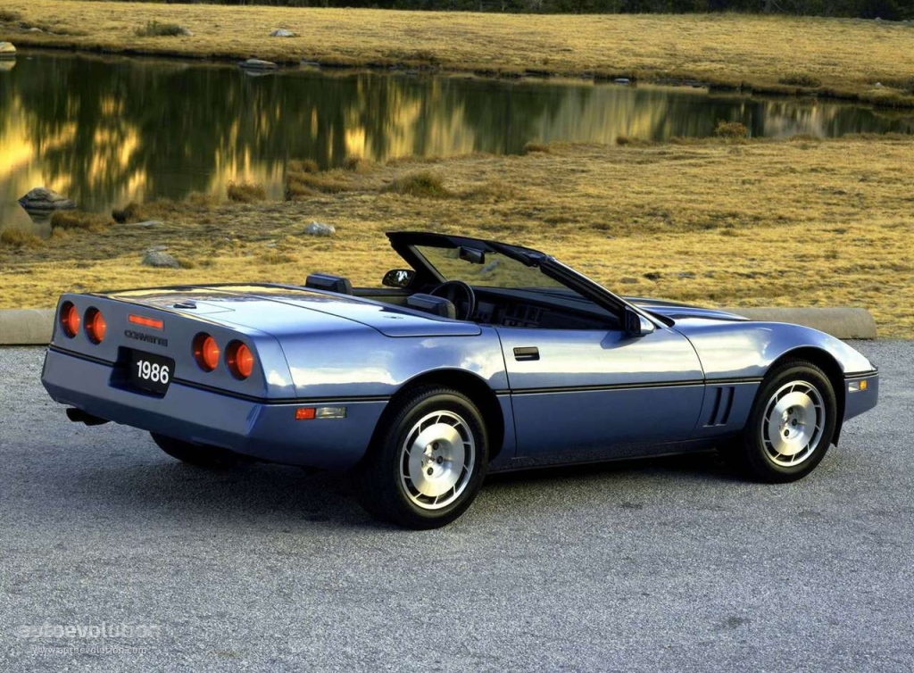 Chevrolet Corvette C4 Convertible Specs Amp Photos 1984