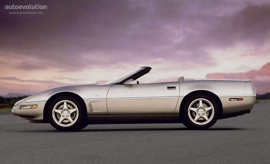 Chevrolet Corvette C4 Convertible Specs 1984 1985 1986