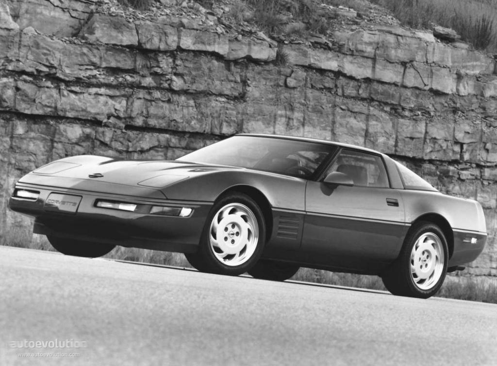 CHEVROLET Corvette C4 Coupe Specs Amp Photos 1983 1984