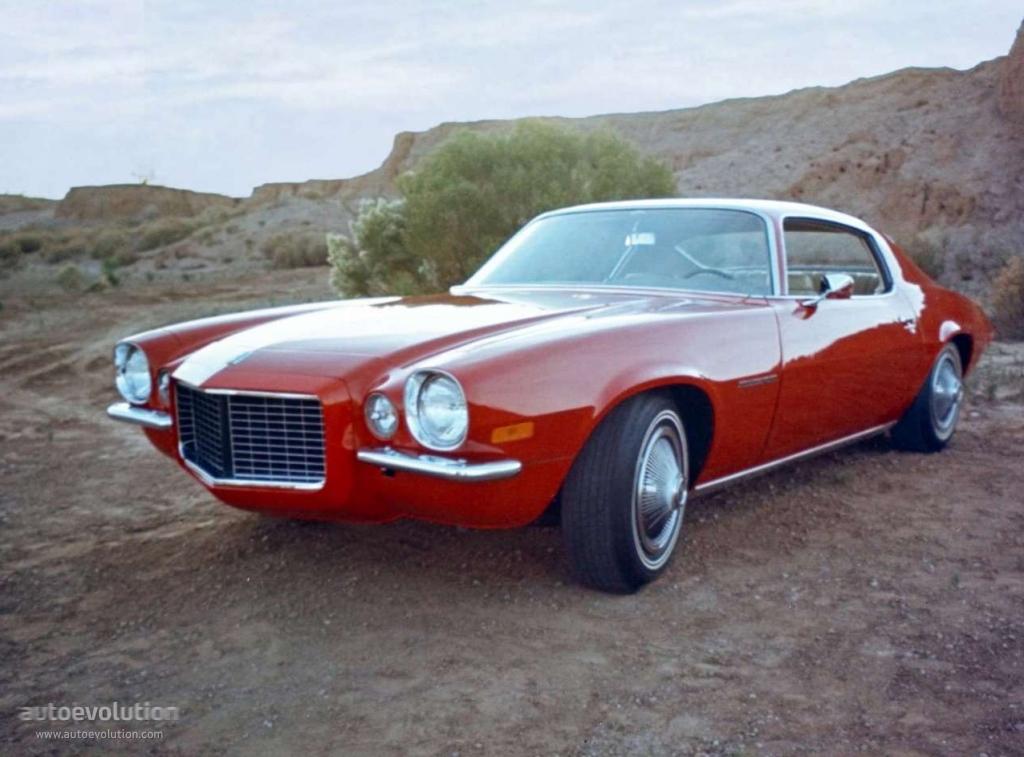 Chevrolet Camaro Specs 1970 1971 1972 1973 1974