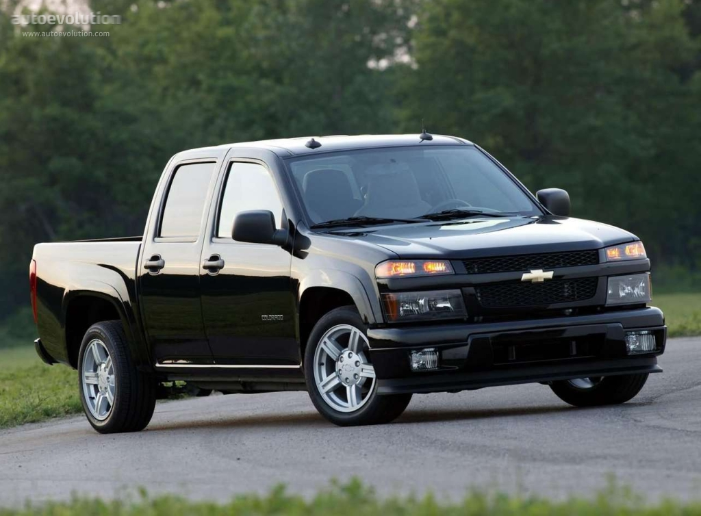 Toyota Tacoma Evolution >> CHEVROLET Colorado Double Cab specs & photos - 2003, 2004, 2005, 2006, 2007, 2008 - autoevolution
