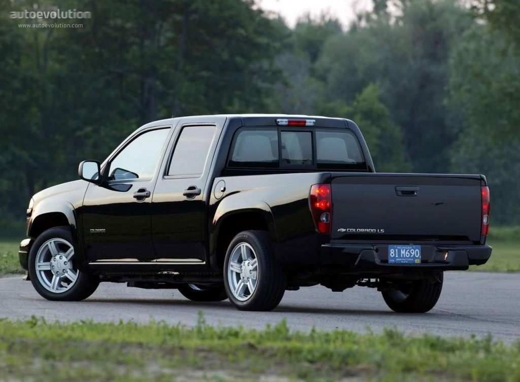 chevrolet colorado double cab specs photos 2003 2004 2005 2006 2007 2008 autoevolution. Black Bedroom Furniture Sets. Home Design Ideas