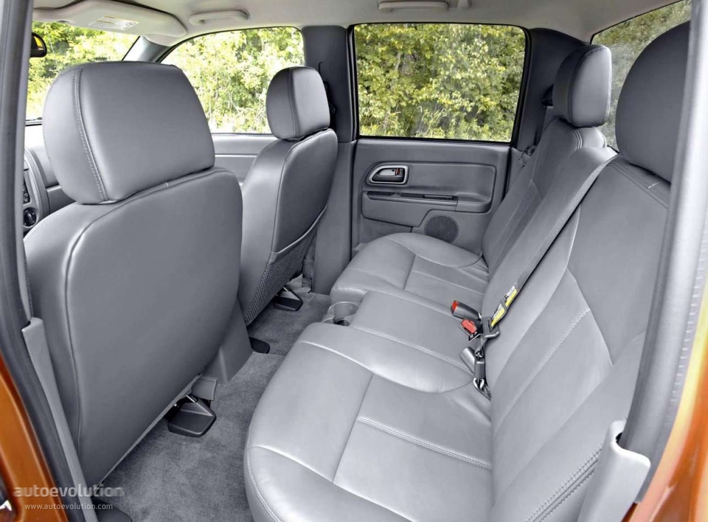 Chevrolet colorado double cab 2003 2004 2005 2006 2007 2008 autoevolution