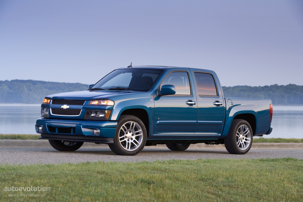 Dodge Dakota 2012 >> CHEVROLET Colorado Double Cab - 2009, 2010, 2011, 2012 - autoevolution