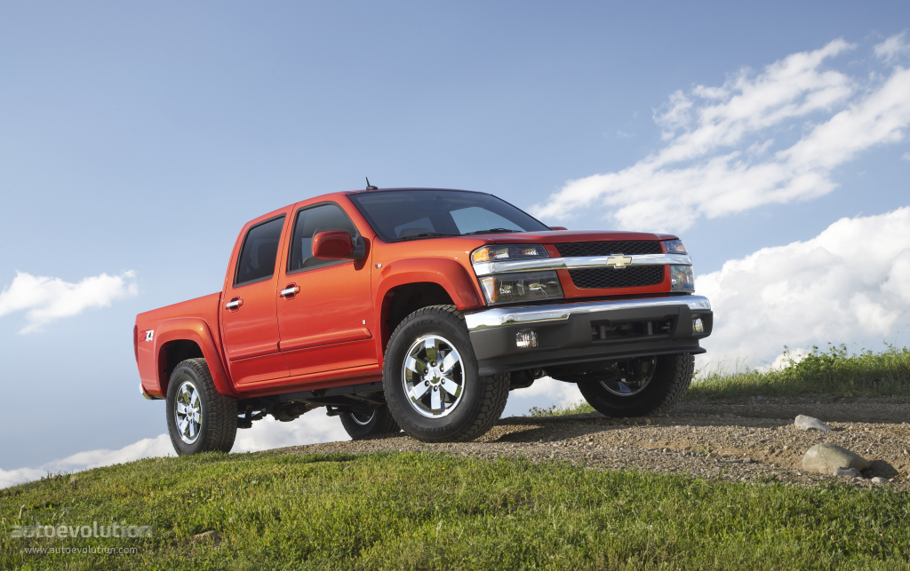 CHEVROLET Colorado Double Cab specs & photos - 2009, 2010 ...