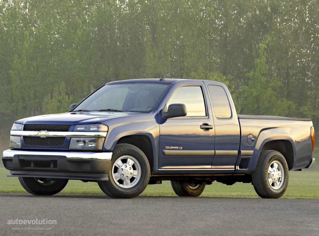 Toyota Tacoma Evolution >> CHEVROLET Colorado Extended Cab specs & photos - 2003, 2004, 2005, 2006, 2007, 2008 - autoevolution