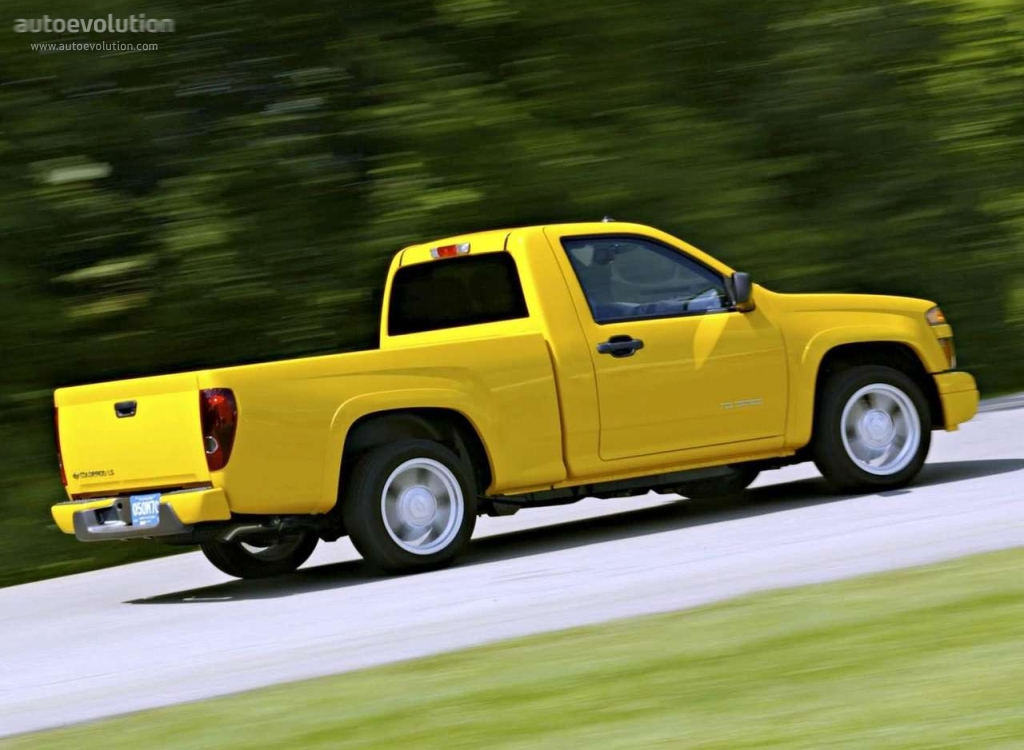 Chevrolet Colorado Regular Cab Specs Amp Photos 2003 2004