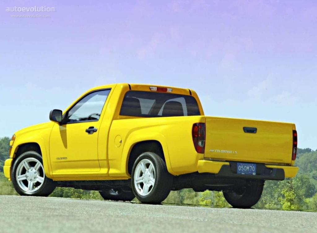 CHEVROLET Colorado Regular Cab specs - 2003, 2004, 2005 ...