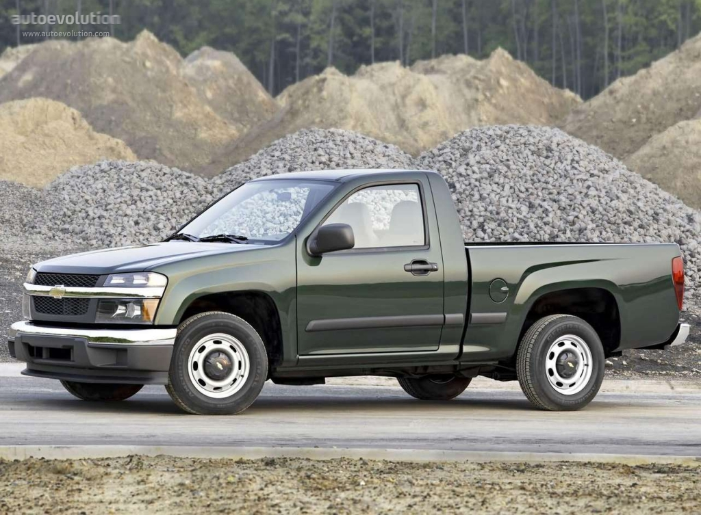 chevrolet colorado regular cab specs photos 2003 2004 2005 2006 2007 2008 autoevolution. Black Bedroom Furniture Sets. Home Design Ideas
