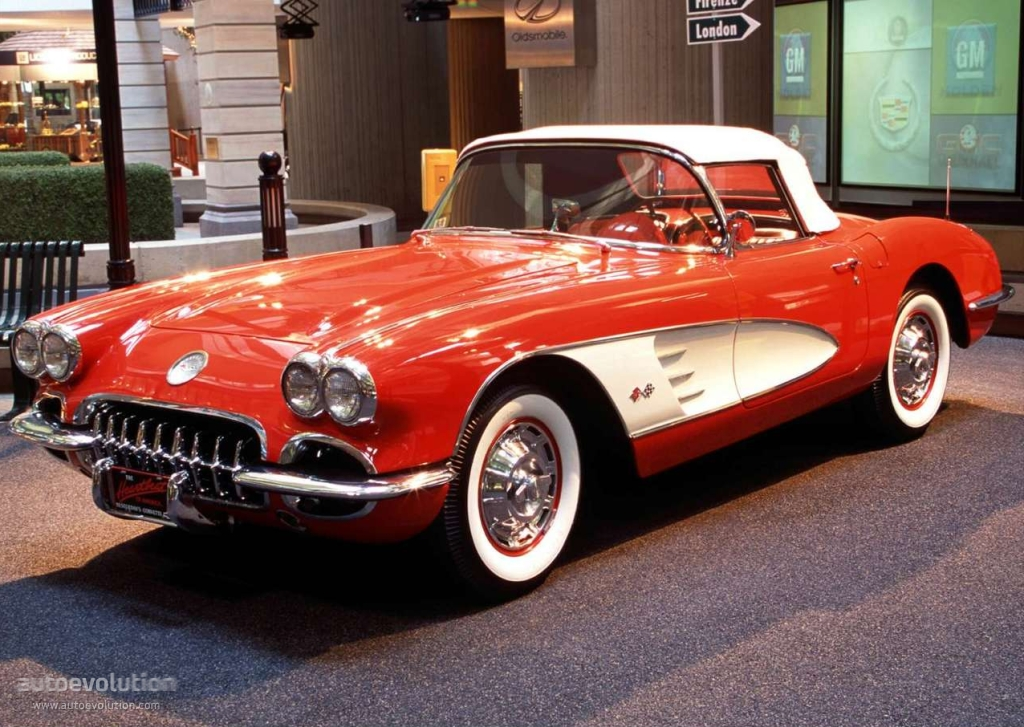 Chevrolet Corvette C1 V8 Convertible Specs 1958 1959