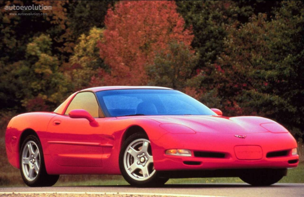 CHEVROLET Corvette C5 Coupe - 1997, 1998, 1999, 2000, 2001 ...