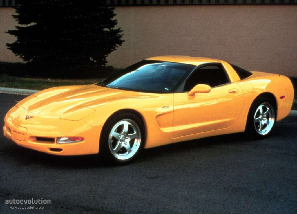 Chevrolet Corvette C5 Coupe 1997 1998 1999 2000 2001