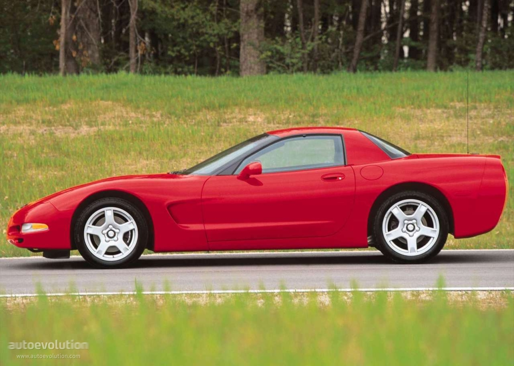 Chevrolet Corvette C5 Coupe 1997 on alfa romeo transaxle