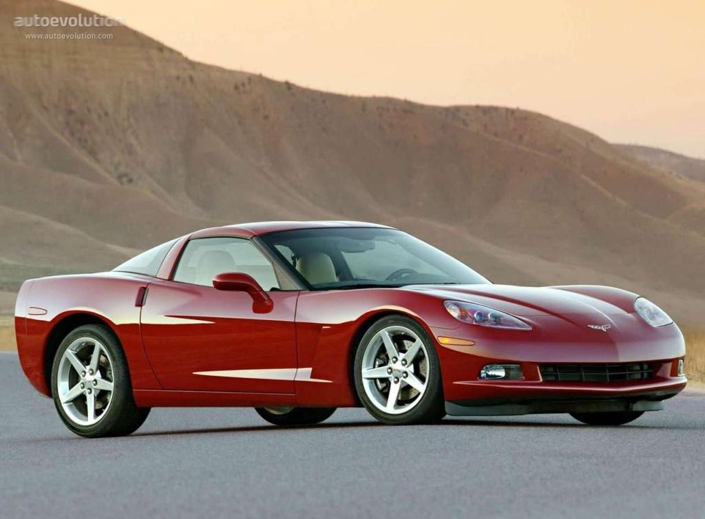 CHEVROLET Corvette C6 Coupe specs & photos - 2004, 2005, 2006, 2007 ...