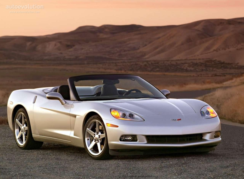 Chevrolet Corvette C6 Convertible 2004 2005 2006 2007