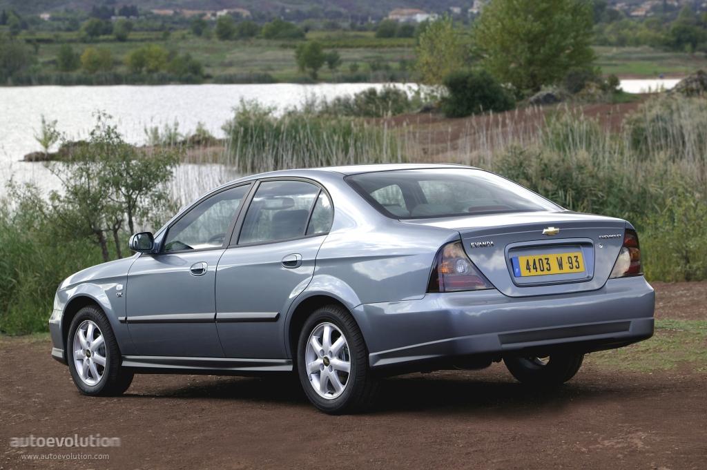 Chevrolet Evanda 2004 2005 2006 Autoevolution