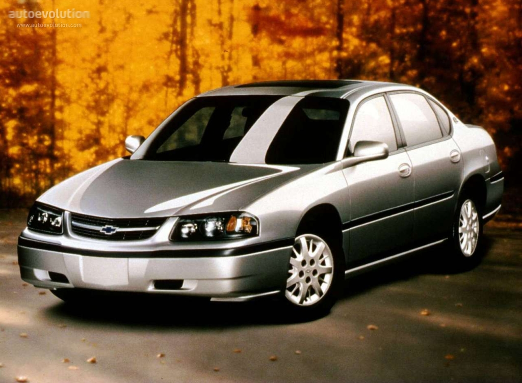 2001 chevy impala mpg