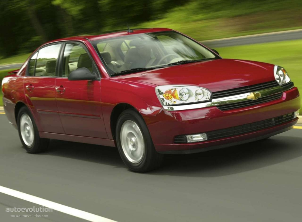 chevrolet malibu sedan specs photos 2003 2004 2005. Black Bedroom Furniture Sets. Home Design Ideas