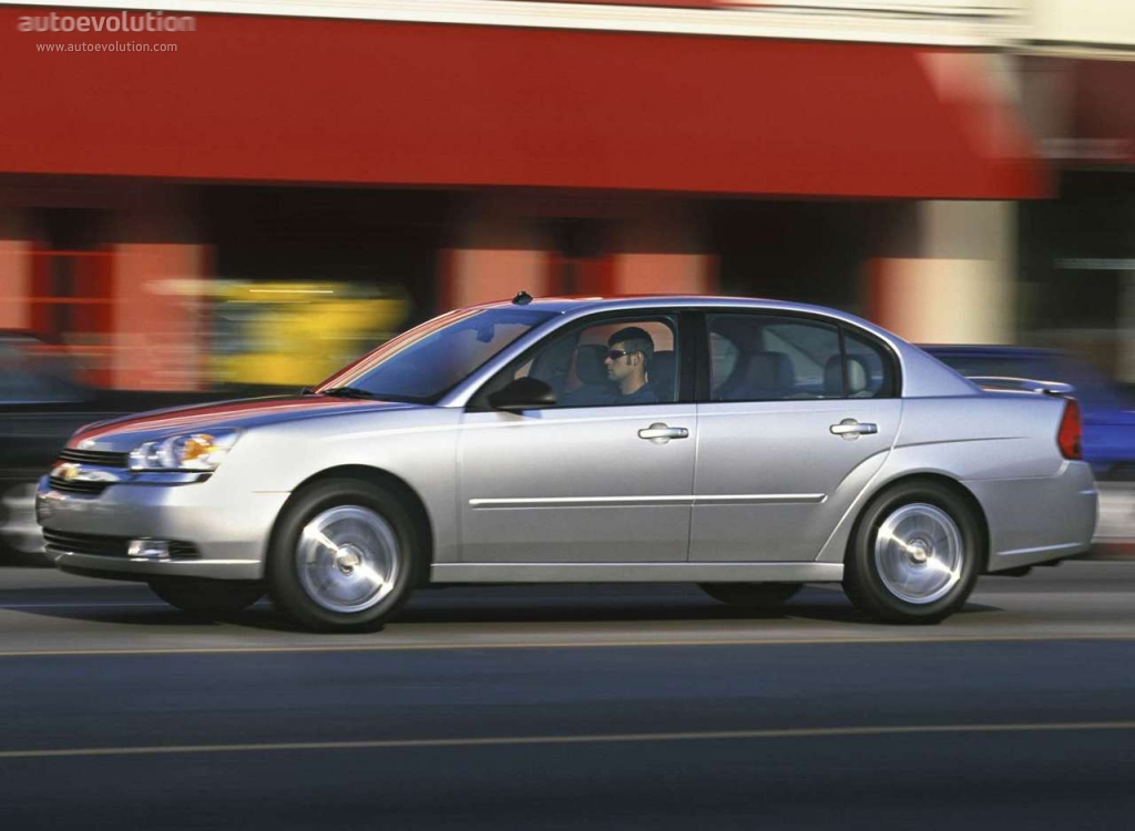 CHEVROLET Malibu Sedan specs & photos - 2003, 2004, 2005 ...