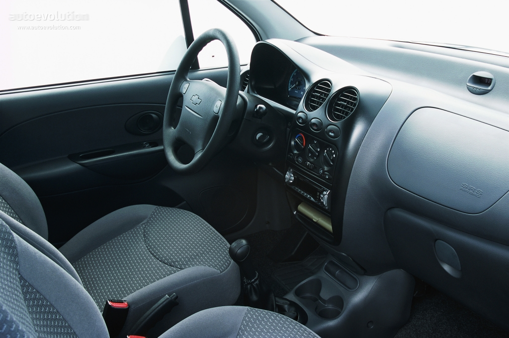 Interior Chevrolet Matiz