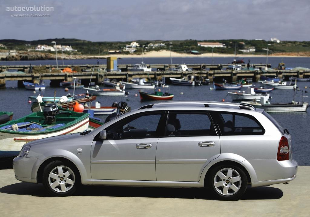 CHEVROLET Nubira/Lacetti Wagon specs & photos - 2004, 2005 ...