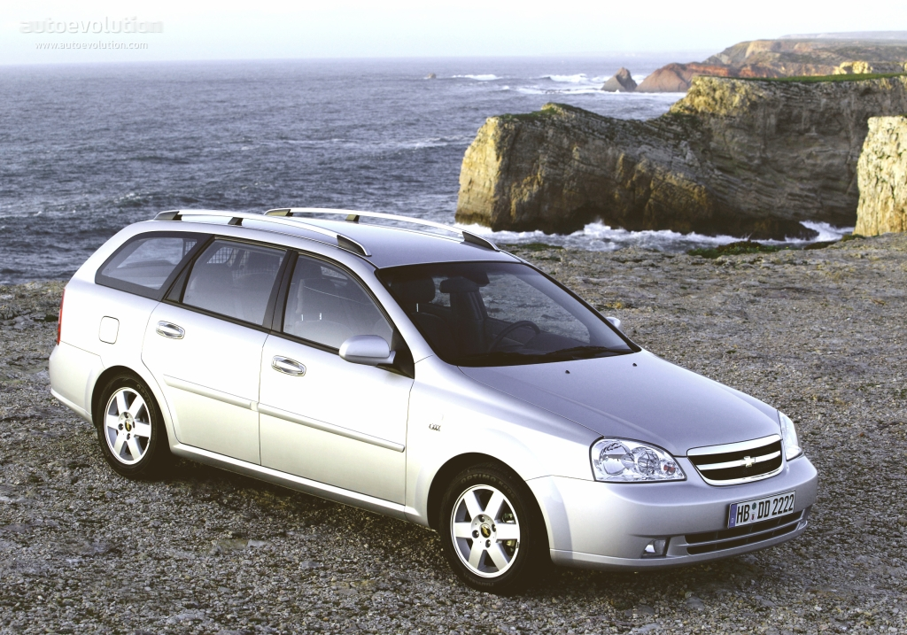 CHEVROLET Nubira/Lacetti Wagon specs & photos - 2004, 2005 ...