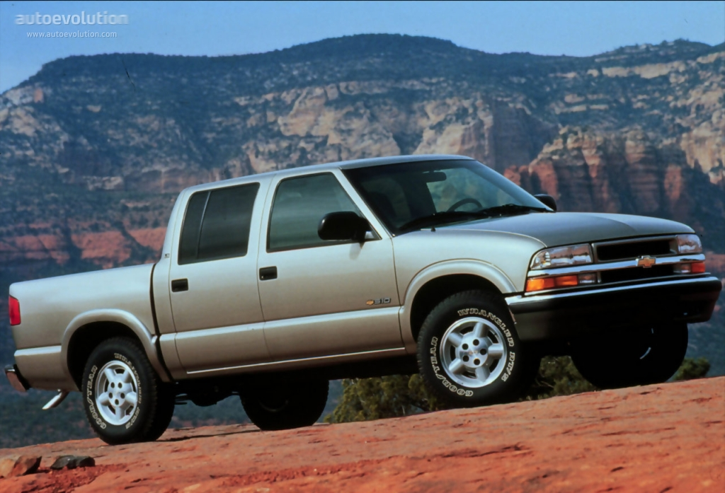 CHEVROLET S-10 Crew Cab specs & photos - 2000, 2001, 2002 ...