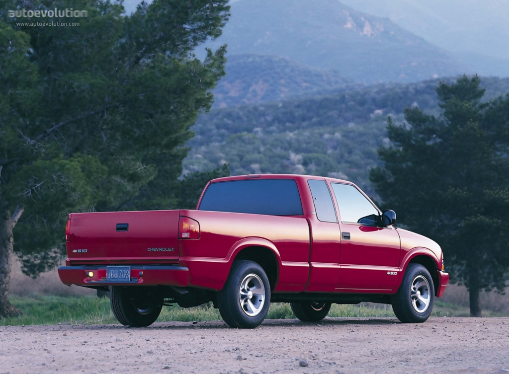CHEVROLET S-10 Extended Cab specs & photos - 1997, 1998 ...